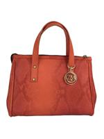 Red Snake Handbag