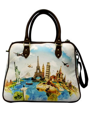 Designer Cabin Travel Bags - Buy Digital Printed CabinTravel Bags ...