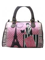 Girl in Paris Handbag