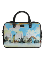 World Travel Laptop Bag
