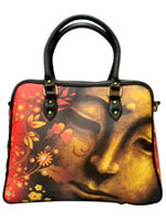 Floral Buddha Cabin Travel Bag