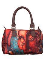 Metallic Buddha Handbag