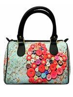 Button Hearts Handbag