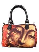 Floral Buddha Handbag