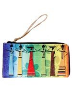 Multi Color Warli Clutch