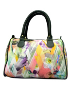 Triangle Abstract Handbag