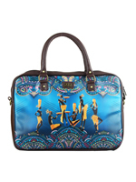 Blue Massai Laptop Bag