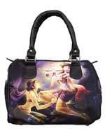Modern Radha Krishna Handbag