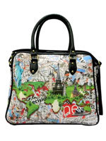 French Eiffel Cabin Travel Bag